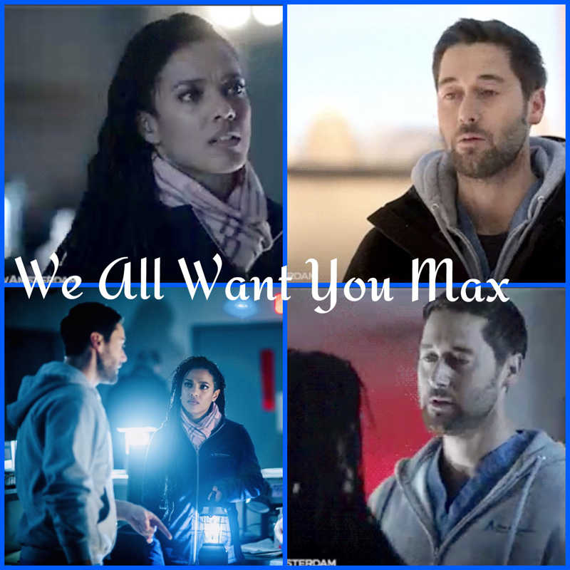 Too many feels!!! 😢💔 And the truth smacks harder than that cold winter air. 🥶  You can't choose but I can and I won't be your Doctor anymore. I think everything Helen said he needed to hear. He's not God he can't save or fix everyone or everything. We Love you Max but your ready to crack . 💔😭 I'm so glad tonight it worked out for the best and everyone lived. We all know that's not always the way life goes.  So many guestion sand feelings. SMDH 😢🤦‍♀️