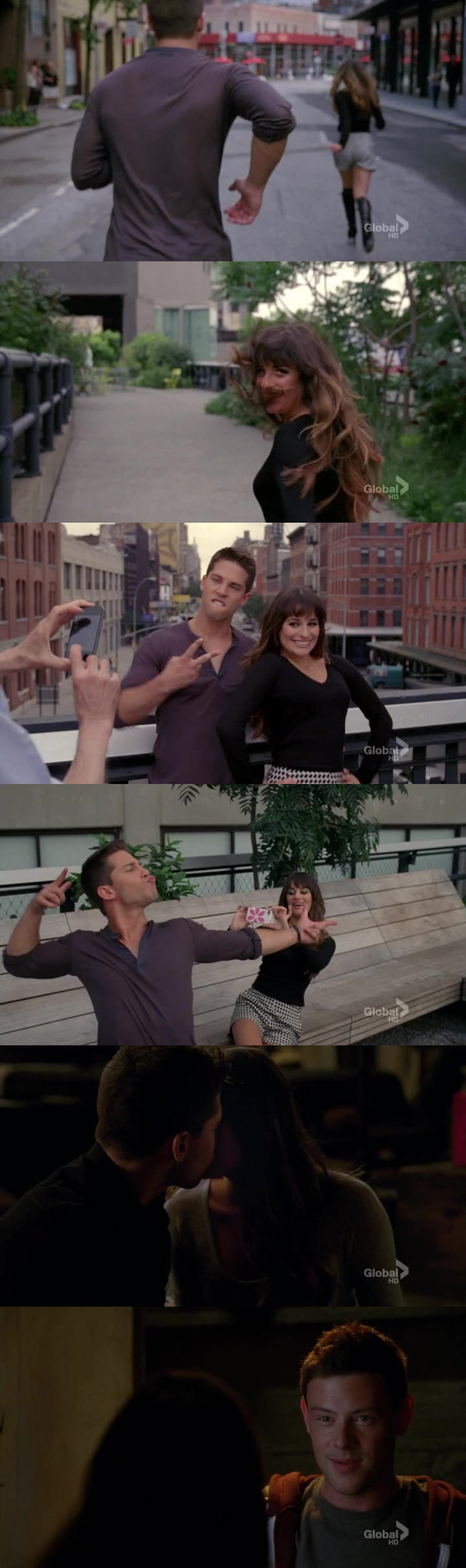 I love Finn and Rachel but i have to say that Brody and Rachel make a really good couple they have so much chemistry.  Another thing that caught my attention was that Rachel is starting to look like Lea.