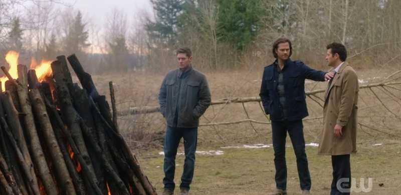 I really don't mean to cheapen the moment, but... SAM WINCHESTER IS A COCKBLOCK :P