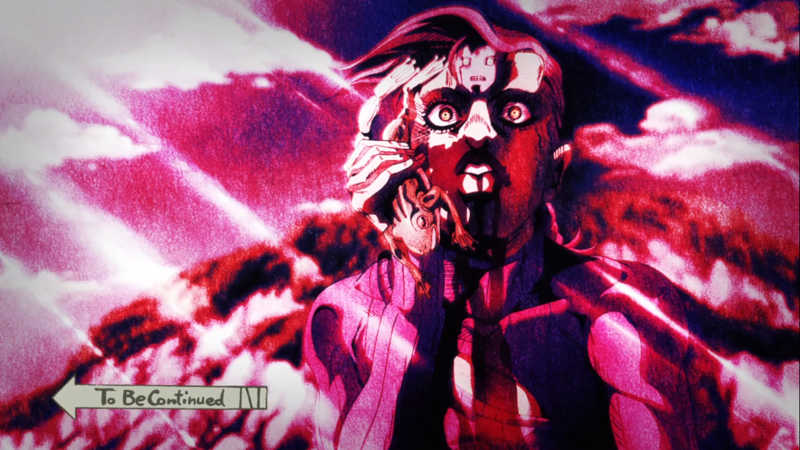 man this episode was INSANE!!!!!! Doppio is crazy AF!!!!! I absolutely cannot wait for next weeks episode, i feel like this fight is gonna be EPIC.