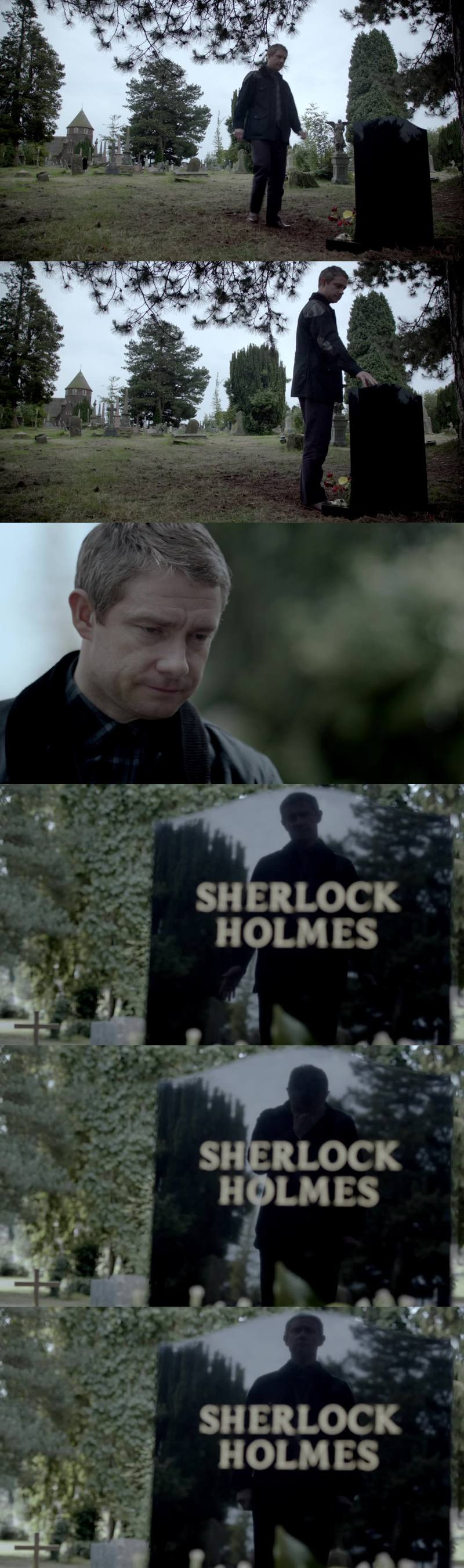 i was so alone, and i owe you so much, but, please, there's just one more thing, one more thing, one more miracle, Sherlock, for me. don't... be... dead