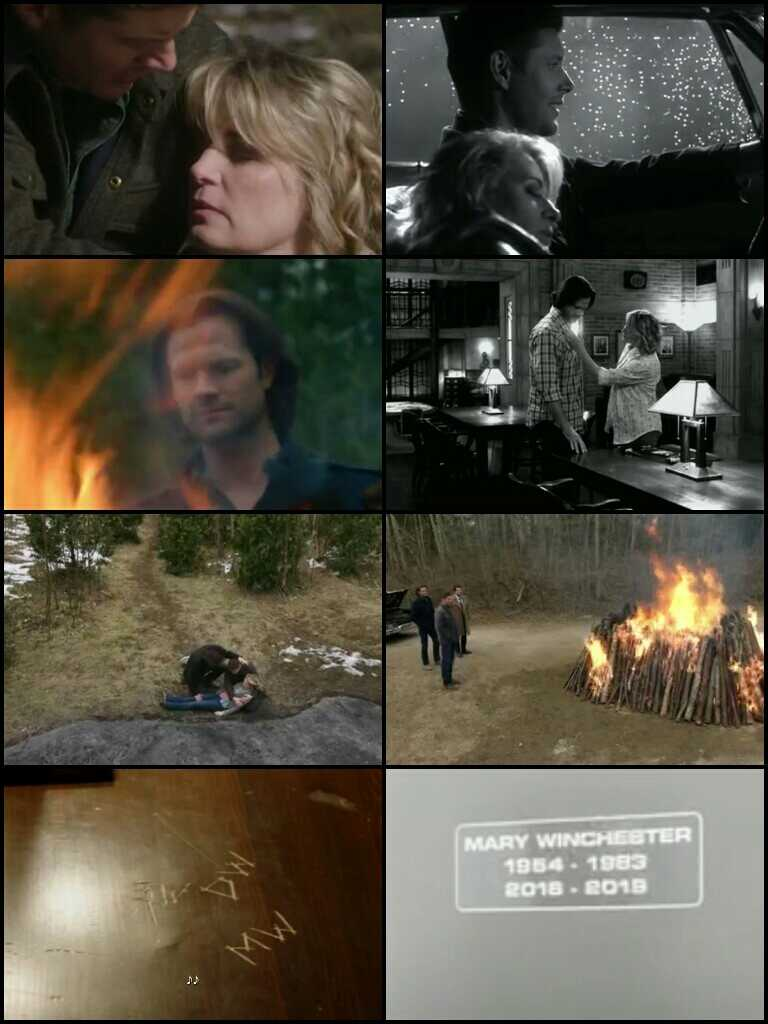 This episode was so emotional! :I Rest in peace Mary Winchester! 🌹