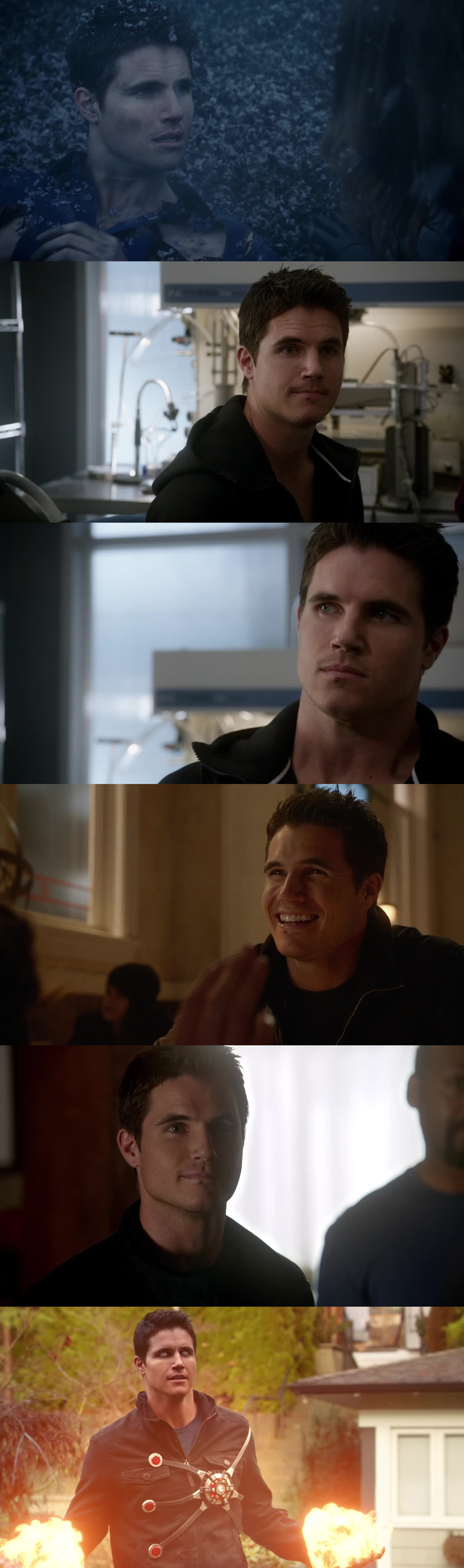 Ronnie = The BEST part of the episode ! YOU ARE GREAT ROBBIE AMELL !