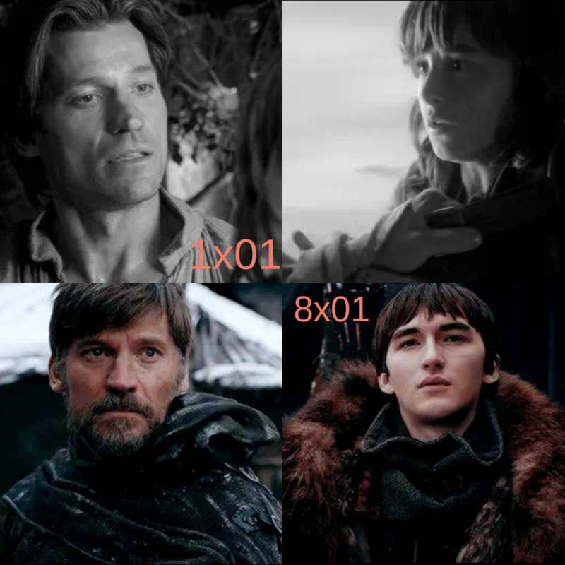 Sam : What are you doing out here?  Bran : Waiting, for an old friend.  🔥🔥🔥