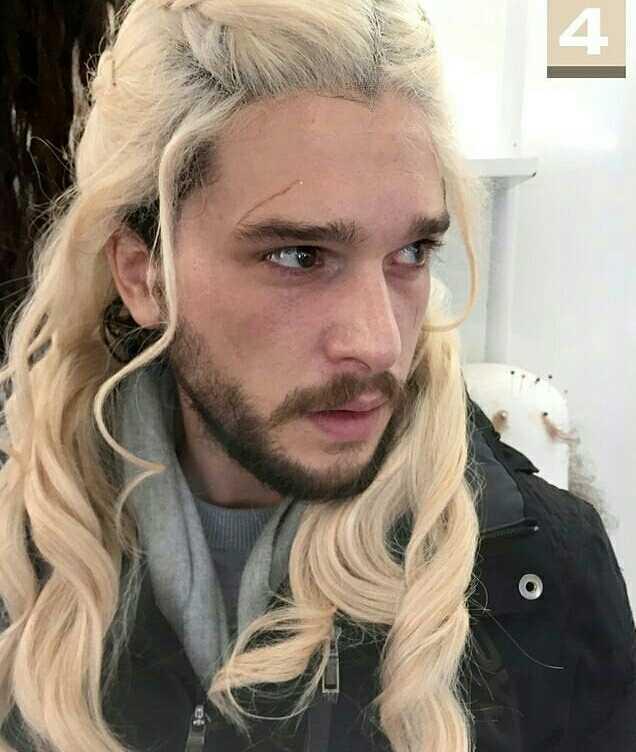 Jon after he found out he's a Targaryen 😂😂