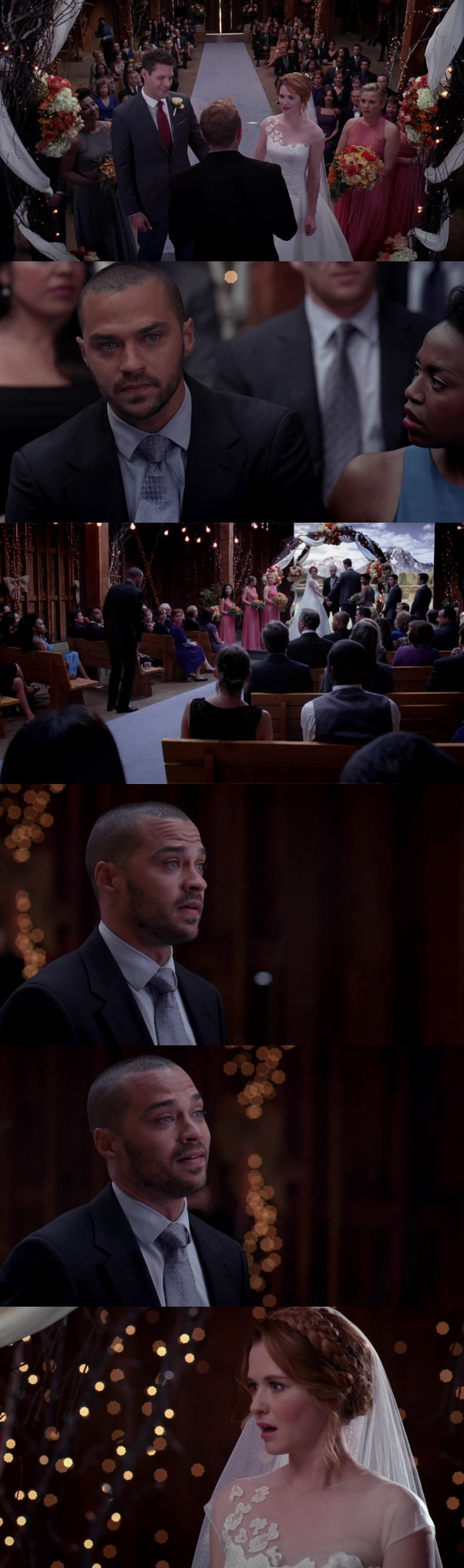 """Mark Sloan said to me: If you love someone, you tell them. Even if you're scared that it's not the right thing. Even if you're scared that it will cause problems. Even if you're scared that it will burn your life to the ground, you say it and you say it loud. And then you go from there."""