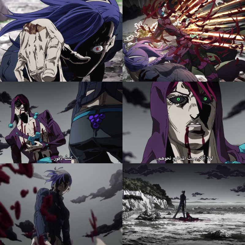 King Crimson vs Metallic is probably the most brutal & bloodiest fight in Jojo. David Production as always killing it with Jojo & with each part they become better. I can't wait to see what will happen next 😍😍😍🔥🔥