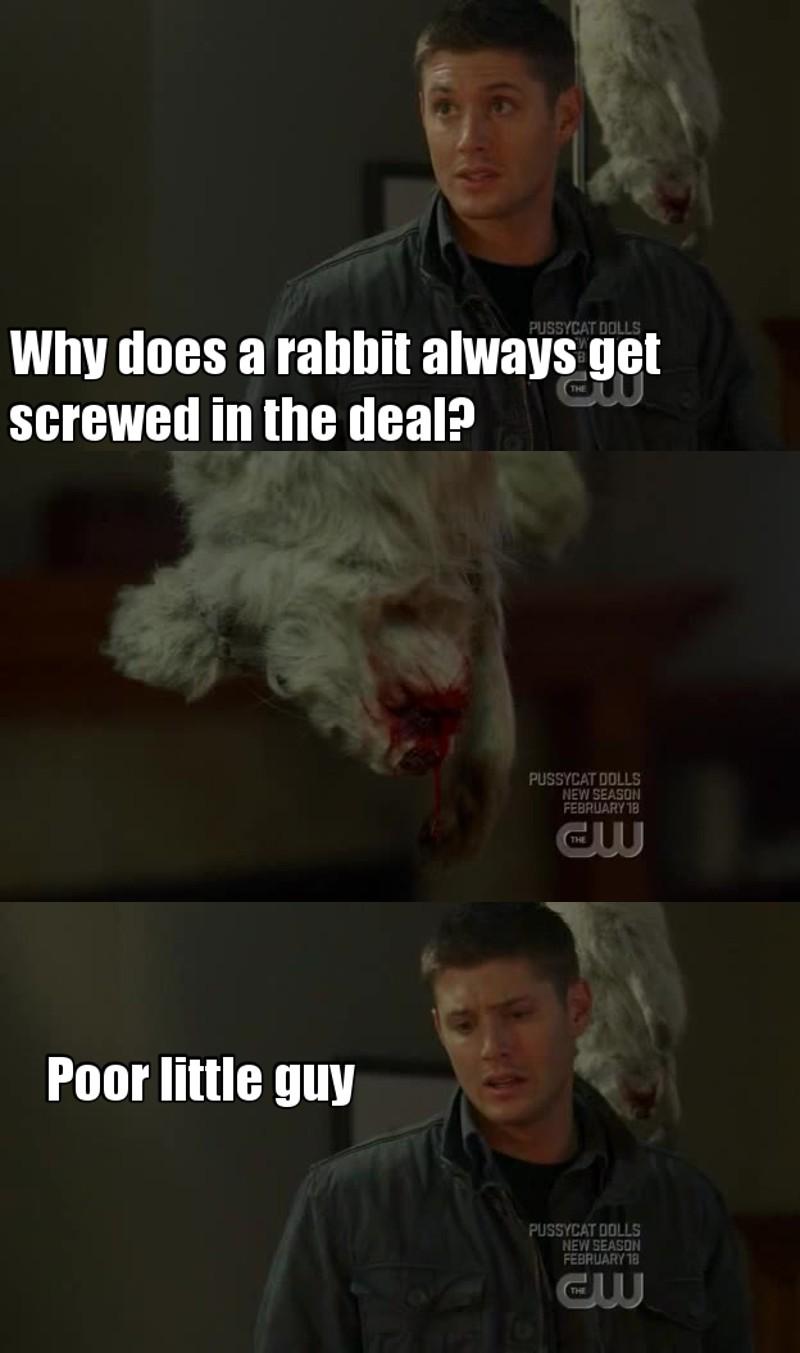 XD I love Dean! ❤