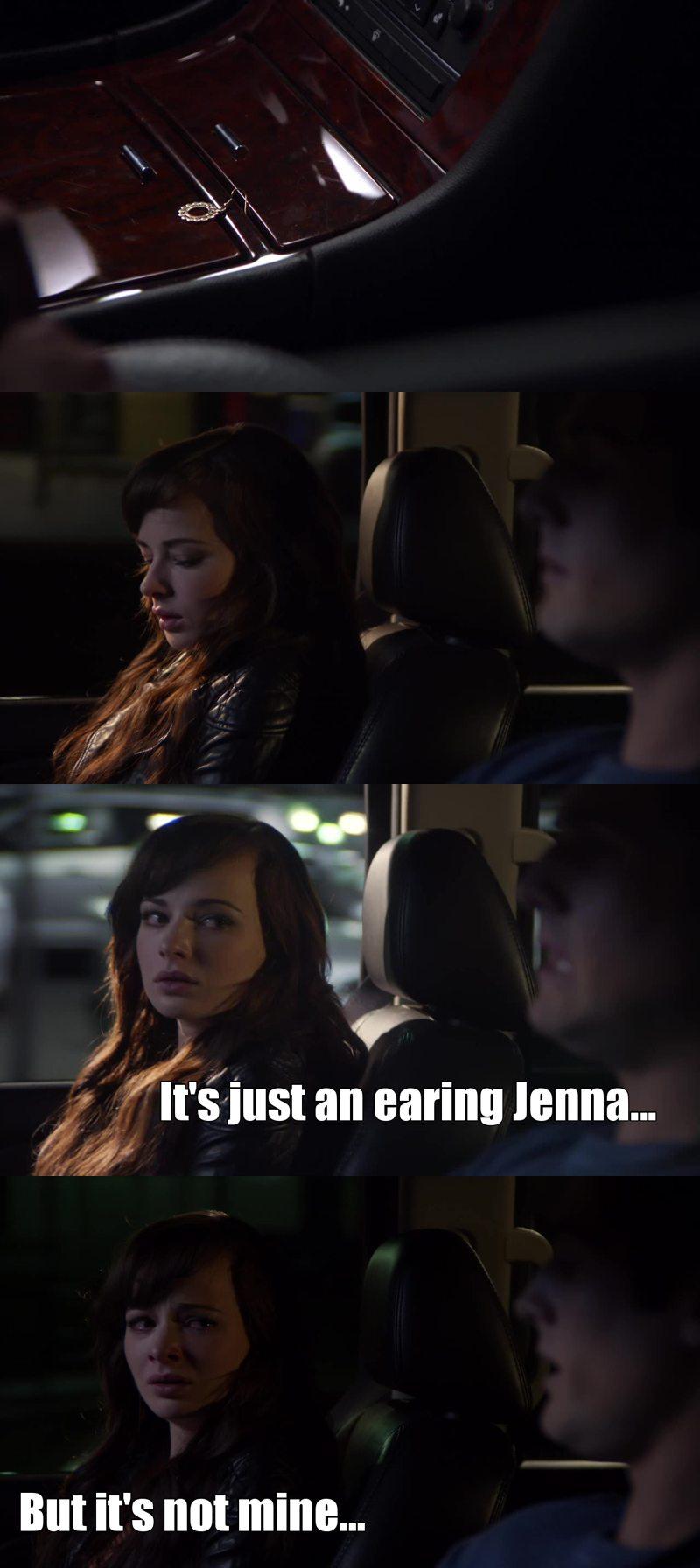 You've broke my heart Jenna :'(