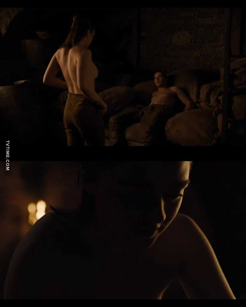 Non mais à mes yeux Arya elle avait aucune sexualité en elle... et en plus dans ma tête c'est encore une enfant... j'étais clairement pas prête