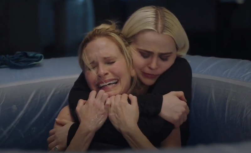 Annie climbing into that pool and holding Nancy as she cried was such a terrific scene.
