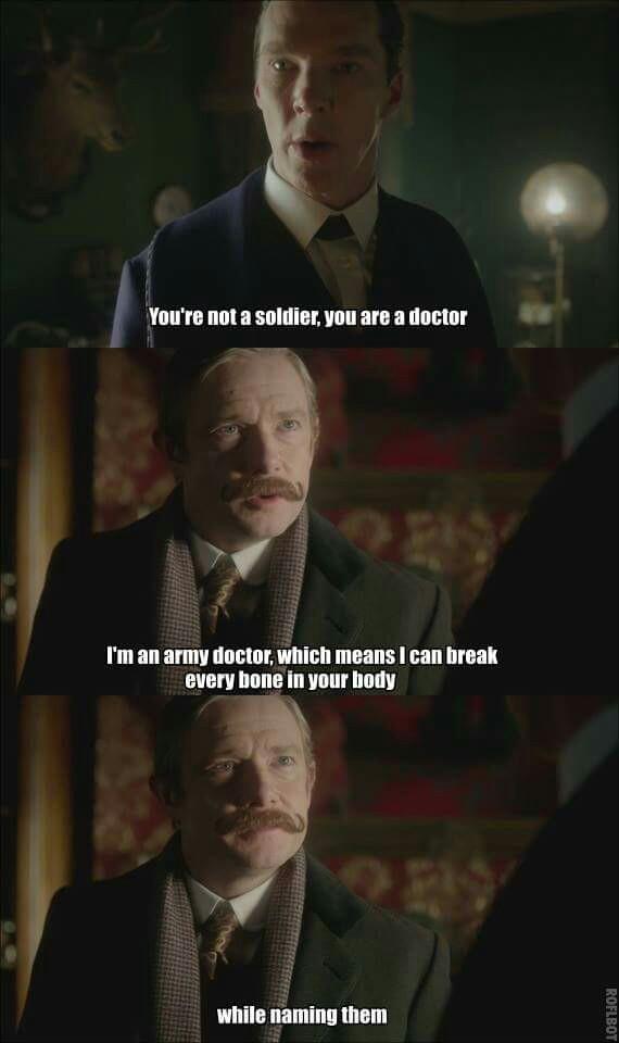 Watson is fantastic haha