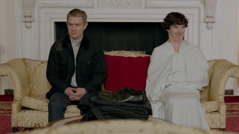 Benedict's face! HAHAHA