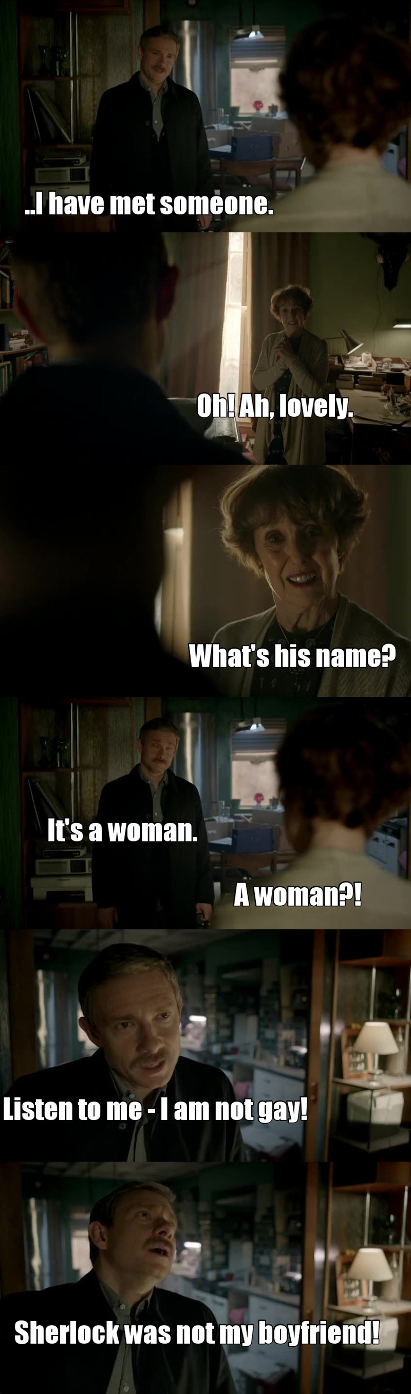 we are all mrs hudson