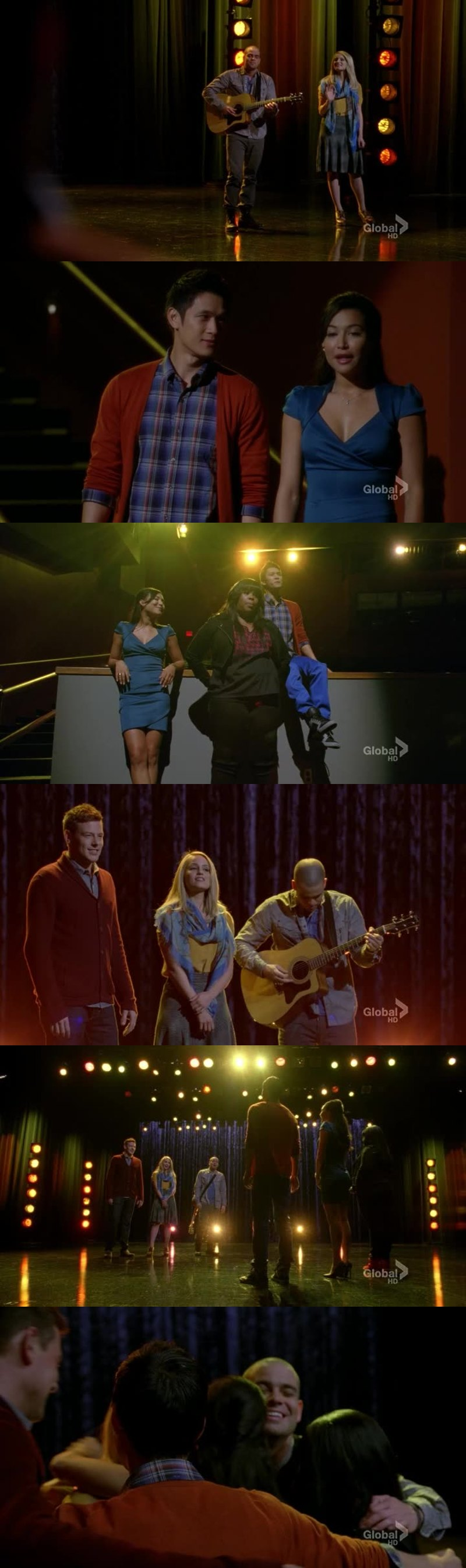 I really miss the old glee club they are the best.