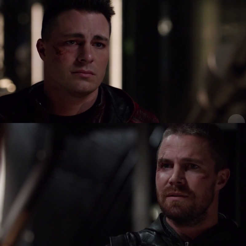Poor Roy, always having some kind of problem, before was the effects of the Mirakuru & now the lazarus pit 😅