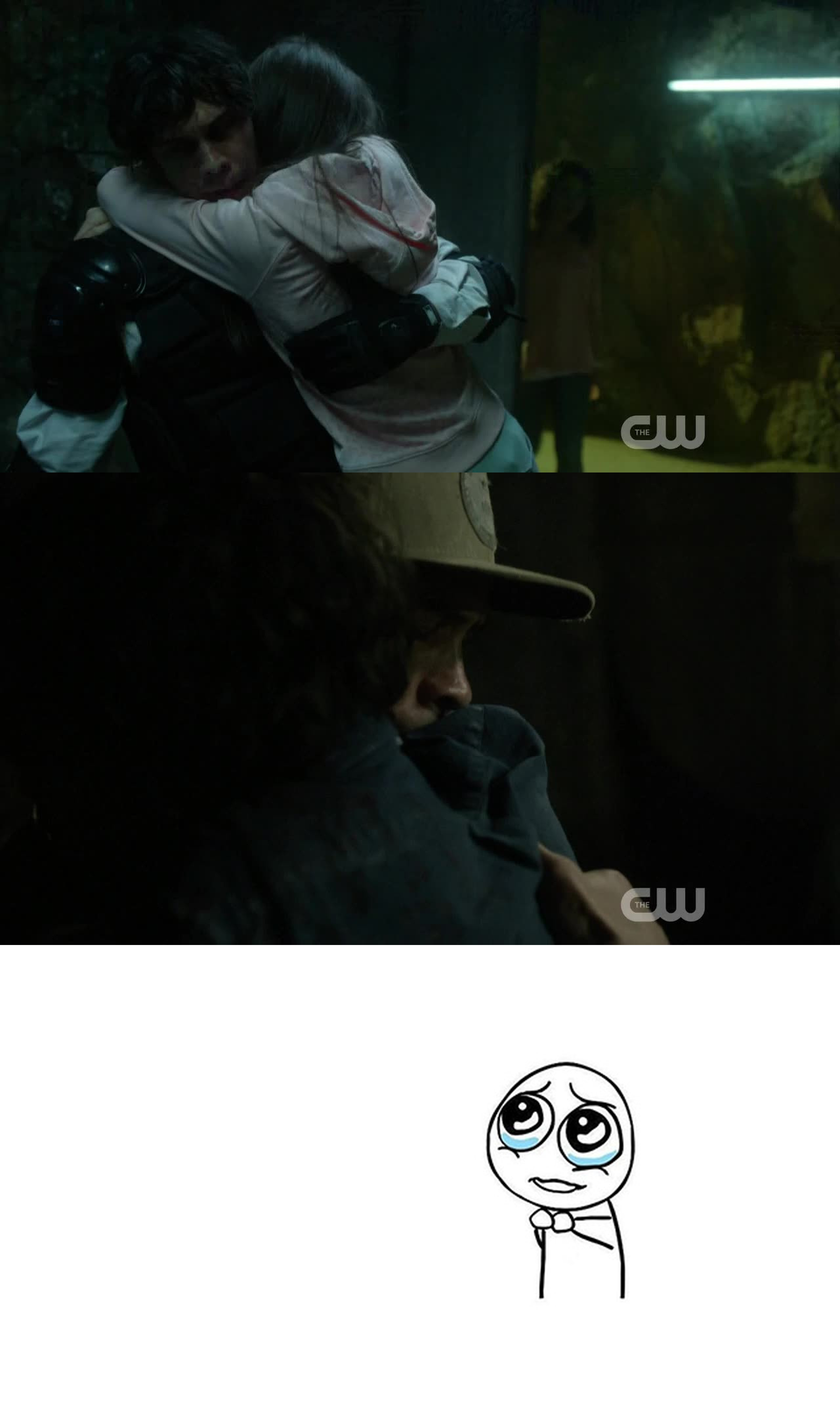May I hug you too, Bellamy Blake?