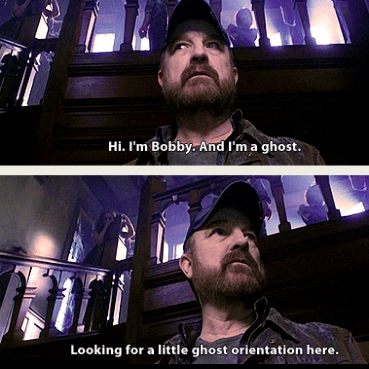 Ghost or not I Love him ❤️ and he's having the biggest heart in spn although he's showing the opposite 😇