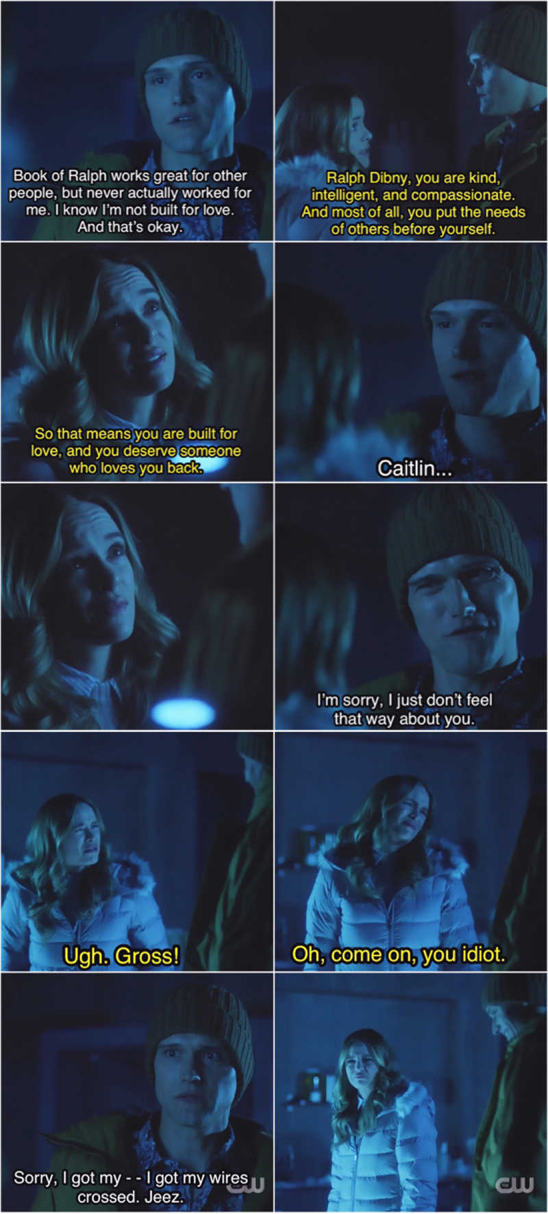 I loved this 😂 Caitlin's facial expression says it all 😖🤣