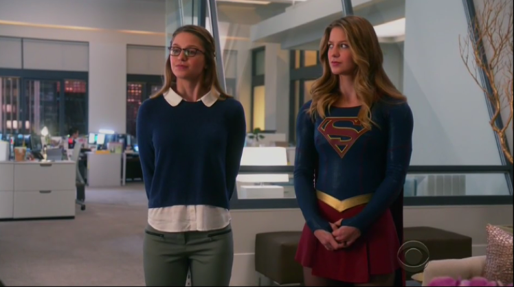 When Orphan Black meets Supergirl.