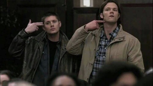 "when somebody says "" don't you love your religion ? you are watching Supernatural !! "" ı like inside "" do you really have a brain ? just use it please. """