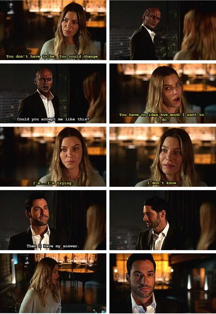 How this episode killed me... Lucifer looked devastated 😢