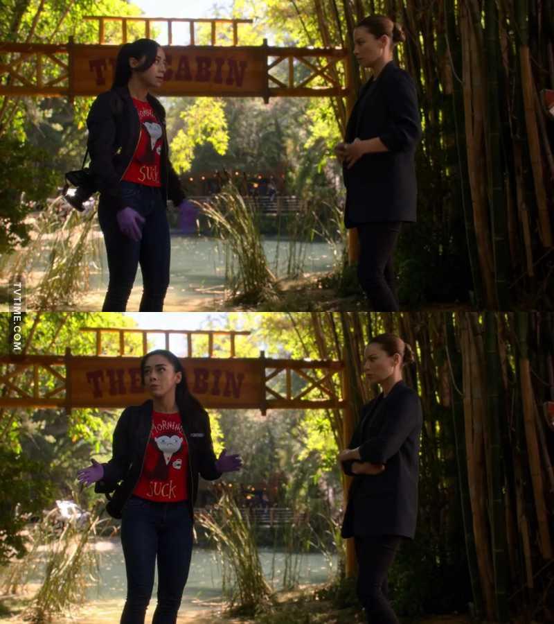 """I have kinda watched 27 seasons in two weeks.""  Ella one of us! 😂😂😂😂🔝"