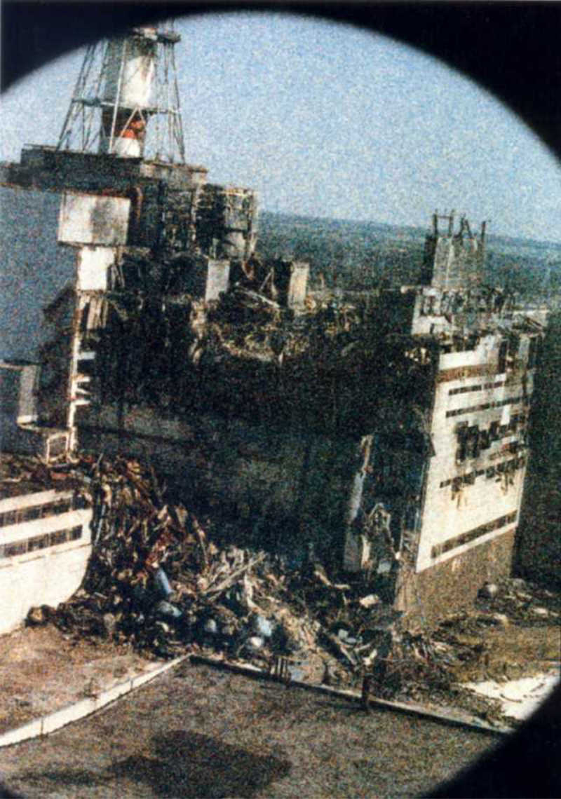 Chernobyl the morning of the explosion.