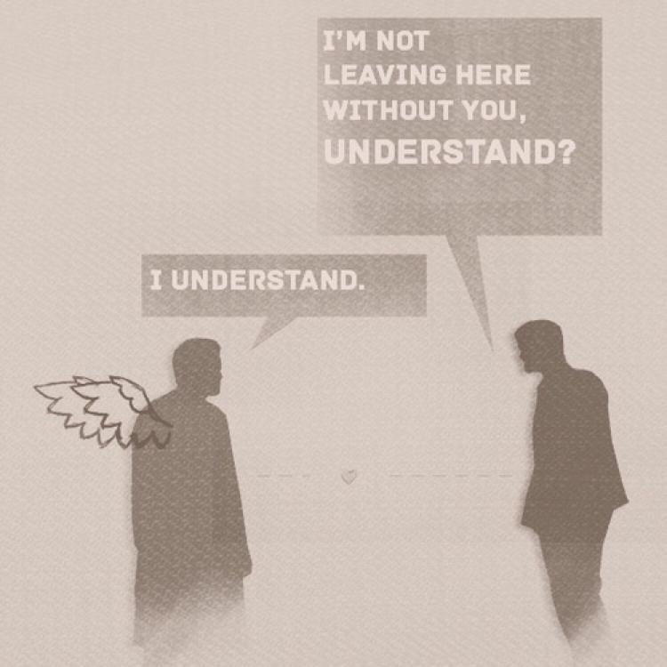 I Love their friendship 💔 Cass & Dean...