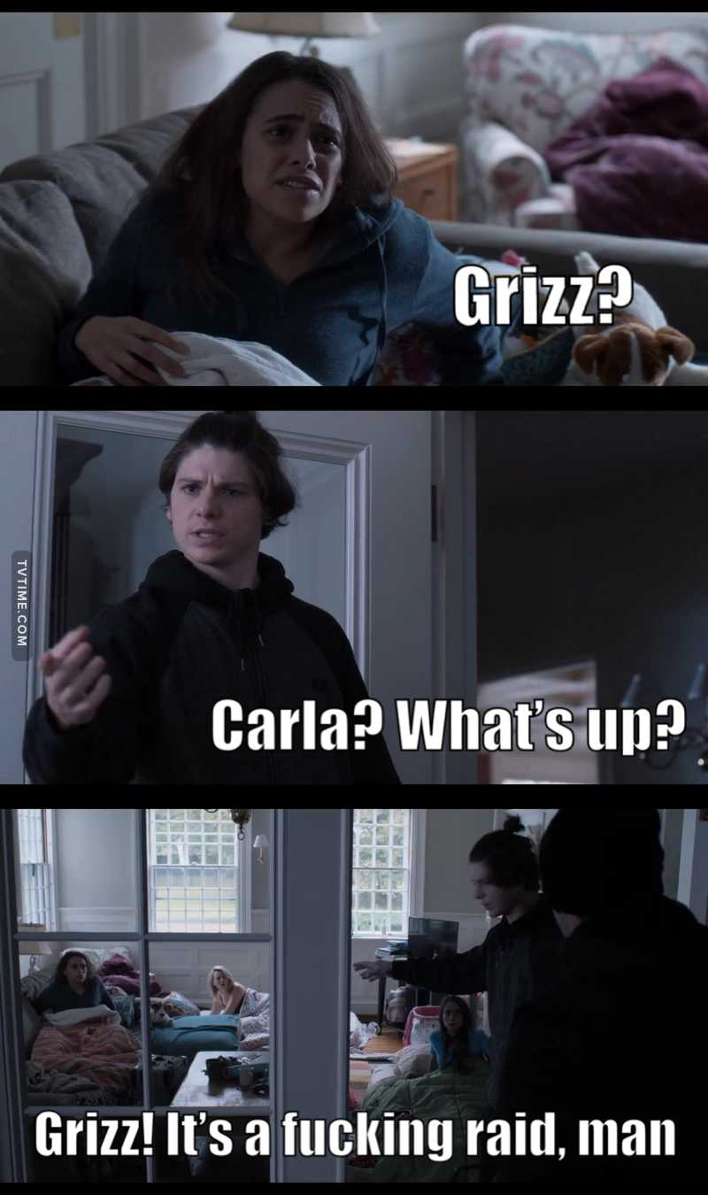 Grizz is the best thing about this show 😂😍