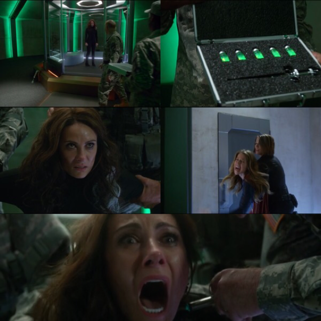 This moment was sad even if she's the vilain!