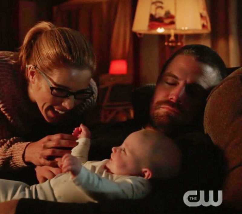 Look at that baby smiling. Emily literally makes everyone smile. ❤️❤️