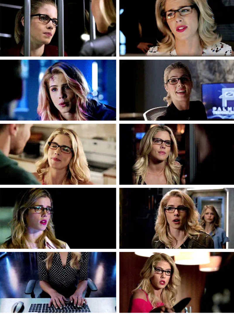 Felicity Smoak is, in large part, the glue that holds Arrow together. Though she is perhaps the least physically capable member of the team when it comes to throwing a punch, she is as much a hero as anyone who suits up in a vigilante mask or hood. Her enormous heart, her compassionate nature, and her refusal to back down when facing the worst sorts of odds make her the kind of woman any of us might aspire to one day become. She's brilliant, unashamed of her intelligence, and utterly capable, doing everything from managing remote missions to performing surveillance to hacking the FBI or CIA. And over the course of her time on the show, her character completely turns the idea of the nerdy superhero sidekick on its head. She's super smart, sarcastic, awkward, geeky but also feminine, fearless, complex, strong, vulnerable and flawed and it's not that easy to find a female character so much multi dimensional that represents all of it, most of the times they put us in a box but we're not just one type of woman, we're all the package. She's brave, loyal to a fault, and willing to stand up to those she thinks are doing wrong, even when they're her friends. Through the seasons her character became much more complex and layered, exploring her darkness, her struggles and fears but also she's experienced tremendous growth over her time on Arrow as a woman, a hacker, as a businesswoman, and as a leader. Building her confidence, her inner strength. She fought for her own ambition and her independence. She is not a damsel in distress waiting for Oliver to swoop in with his bow and save her. She is smart and tough, complicated and quippy, loyal and brave, sometimes reckless and always stubborn, badass, clever and compassionate. A woman who feels fear, but chooses to be brave. A woman who doesn't compromise her authenticity in order to find acceptance. A woman who does what she can to make the world better, despite a lack of any reward or recognition, simply because it's the only w