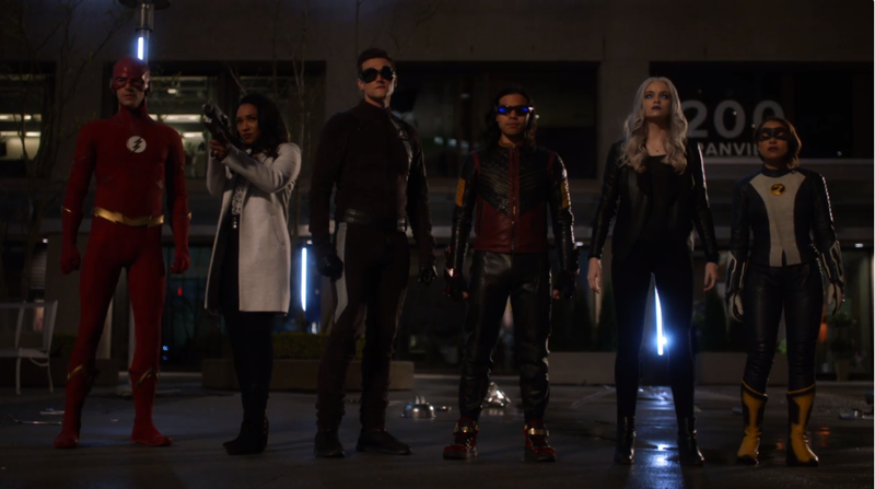 Team Flash! Assemble.