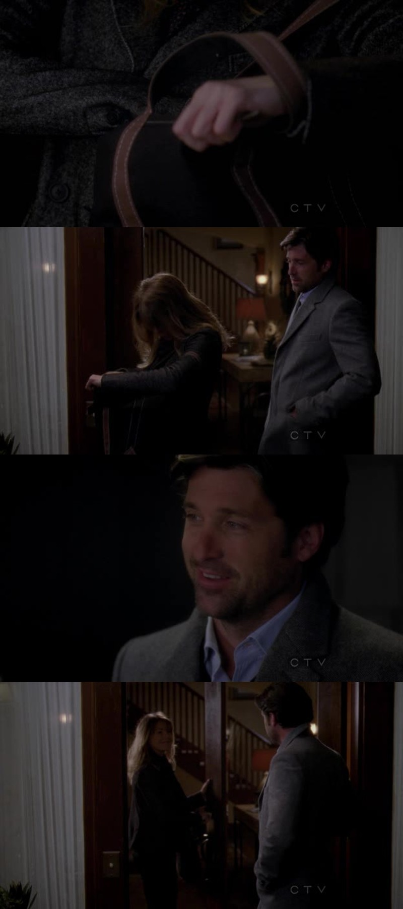 This scene broke my heart. I love how Derek wants to fight for Meredith, he loves her so much. I love them.