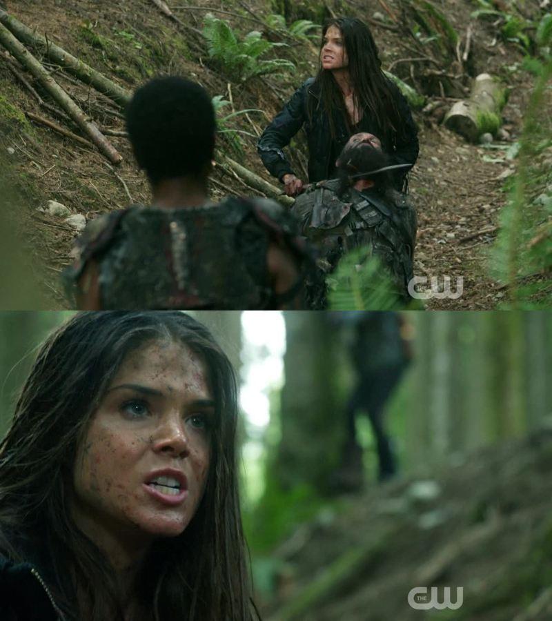Octavia becoming a real badass 💪🏻