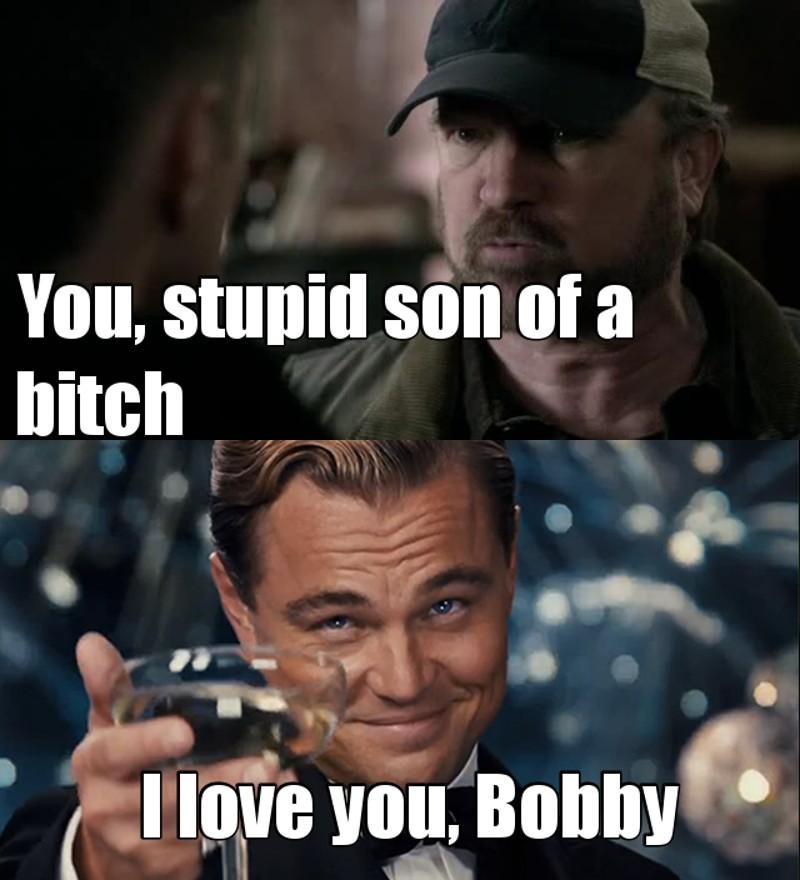 I love Bobby Singer 🔝😍❤