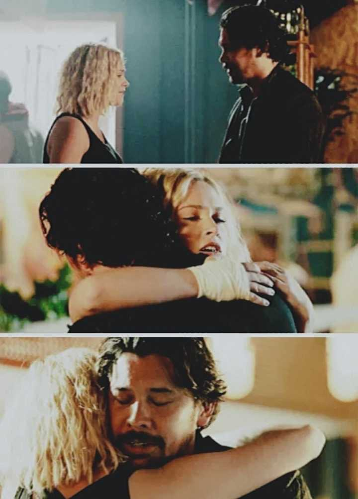 """""""You are my family, too. I lost sight of that, but I promise I will never forget it again."""""""