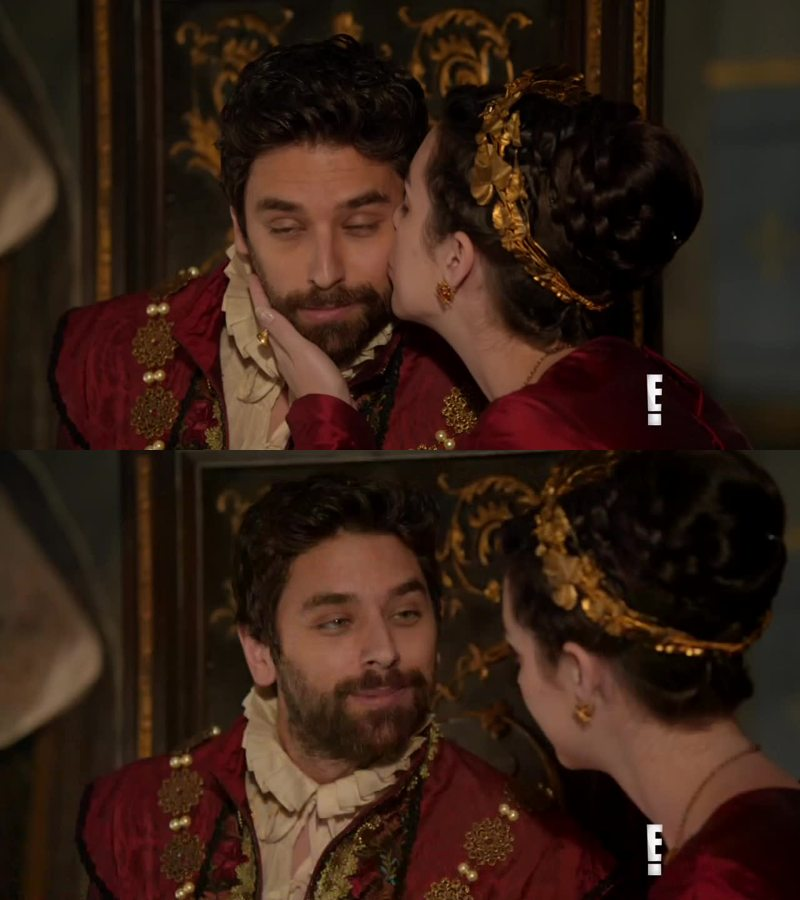 He is so sweet and caring! Mary isn't ready for a new relationship yet, but her country needs that. I admire her for doing that, it takes a great strength. I hope one day she will be happy again. We all miss Francis, he was the heart of this show.