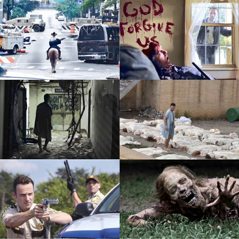 1x01  I MISS THE OLD THE WALKING DEAD