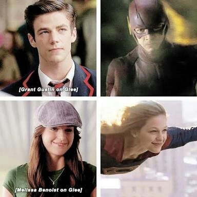 Glee, the secret origin of heroes. 😂