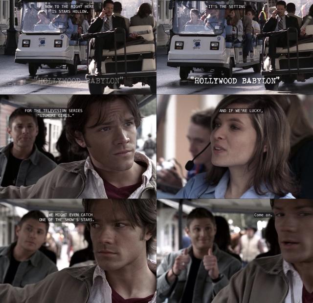 Dean's face 😂