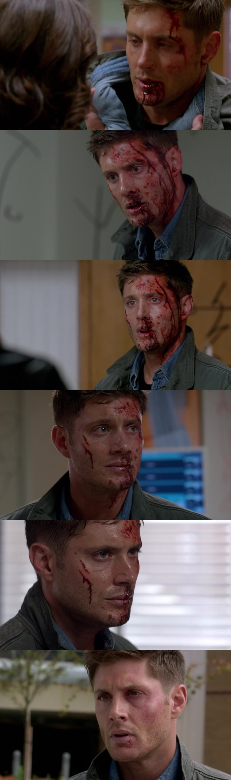8 seasons and I still love him so much... He is so cute and badass in the same time... Even hurt... ☺️