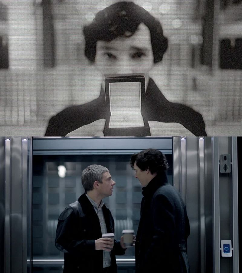 Sherlock, she loves you!  Yes, like I said: human error.