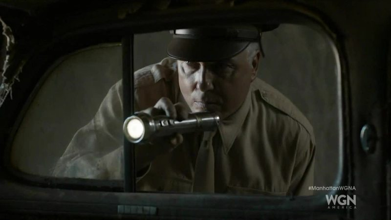 CSI Grissom's father at work :)