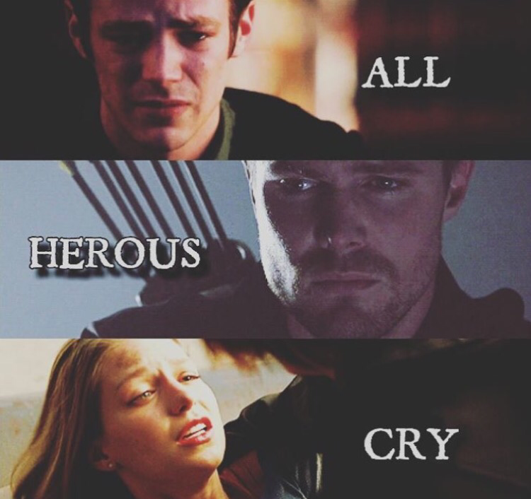 Hall heroes cry