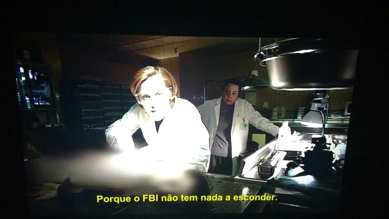 O sacarsmo da Scully foi o melhor!!