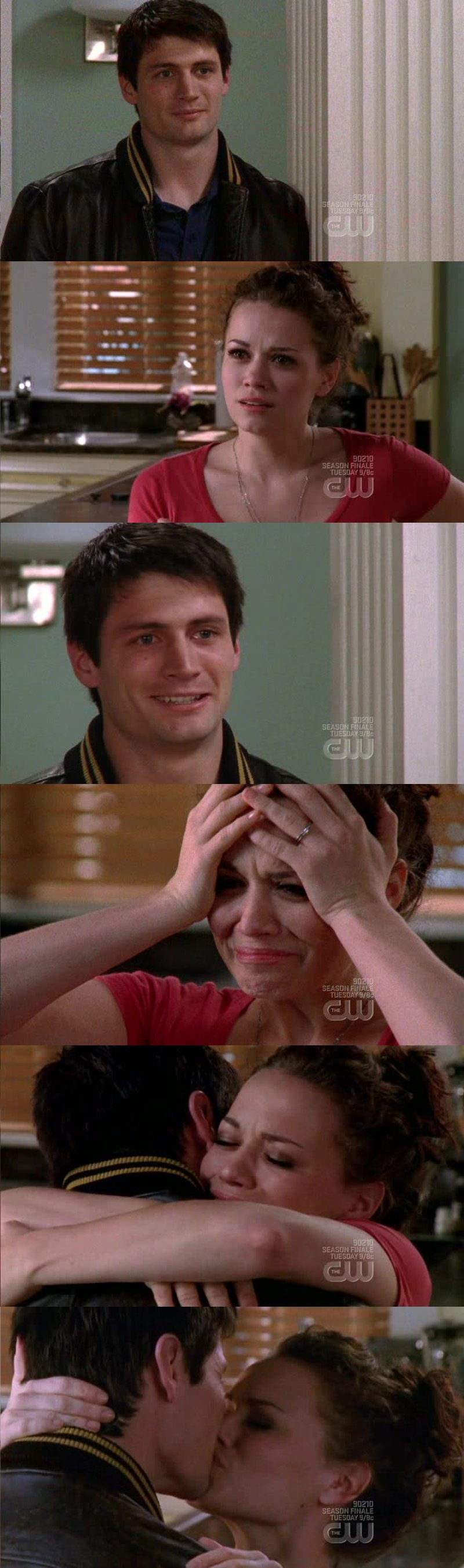 This scene moves me every time! I just love them and Nathan finally making it is amazing!!!