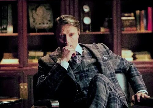 At the end of the episode I was thinking about him, Hannibal Lecter, just thinking that he would love that village. But he would disagree about eating people just once in a decade, I guess.