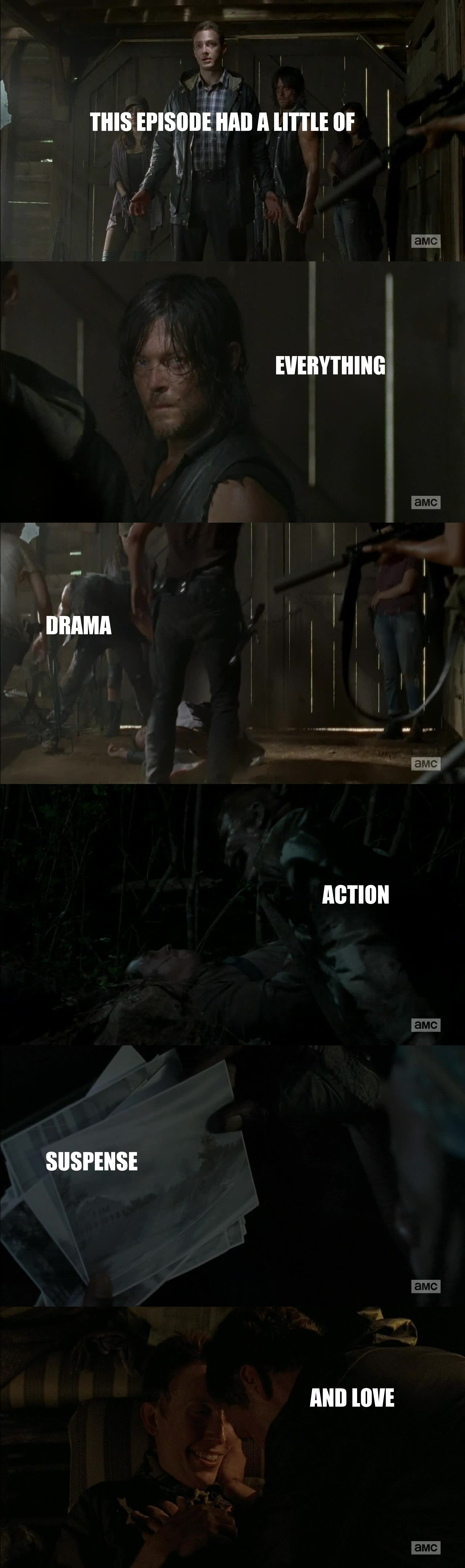 Finally an episode matching the standards of The Walking Dead